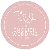 English Wedding Blog Featured Badge